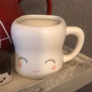 Marshmallow Mug w/ Handle